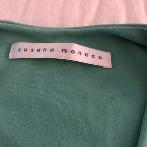 Susana Monaco Tops - Susana Monaco Teal Green Sleeveless Top Sz M EUC